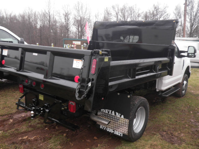2018 F-350 Regular Cab DRW 4x4,  Rugby Dump Body #G4662 - photo 2