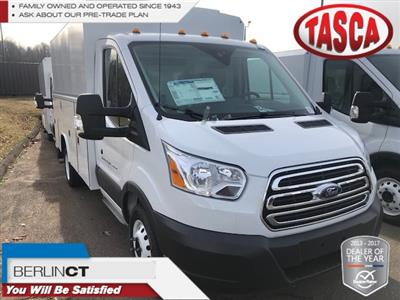 2018 Transit 350 HD DRW 4x2,  Reading Aluminum CSV Service Utility Van #G5081 - photo 1