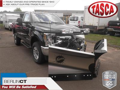 2019 F-350 Regular Cab 4x4,  Fisher Snowplow Pickup #G5092 - photo 1