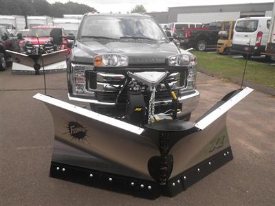 2019 F-350 Regular Cab 4x4,  Fisher Snowplow Pickup #G5092 - photo 3