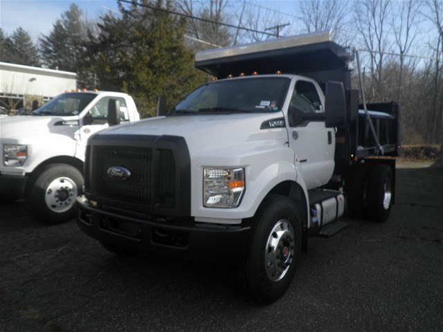 2019 F-650 Regular Cab DRW 4x2,  Rugby Titan Dump Body #G5147 - photo 4
