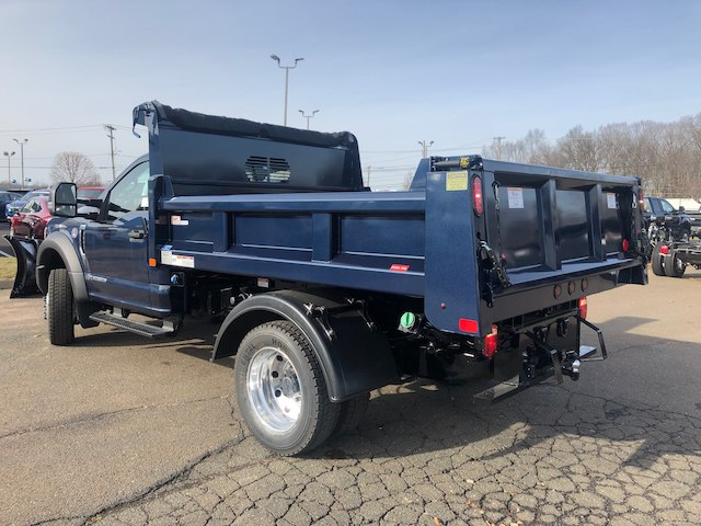 2019 F-550 Regular Cab DRW 4x4,  Rugby Dump Body #G5164 - photo 4