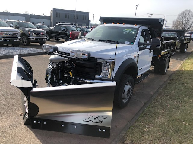2019 F-550 Regular Cab DRW 4x4,  Rugby Dump Body #G5219 - photo 3