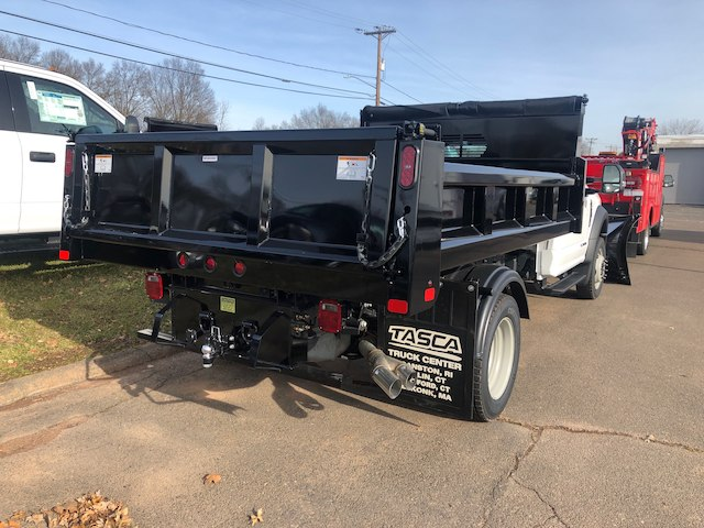 2019 F-550 Regular Cab DRW 4x4,  Rugby Eliminator LP Steel Dump Body #G5219 - photo 2