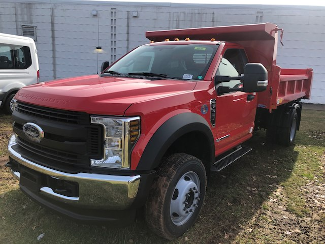 2019 F-550 Regular Cab DRW 4x4,  Rugby Dump Body #G5247 - photo 3