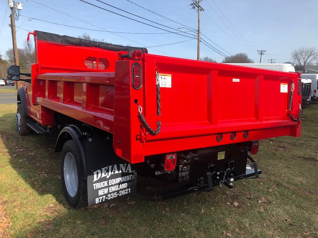 2019 F-550 Regular Cab DRW 4x4,  Rugby Dump Body #G5247 - photo 4