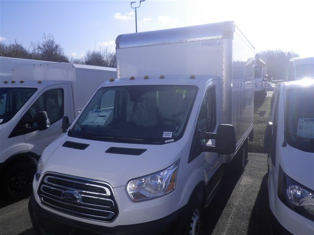 2019 Transit 350 HD DRW 4x2,  Dejana Truck & Utility Equipment Cutaway Van #G5294 - photo 4