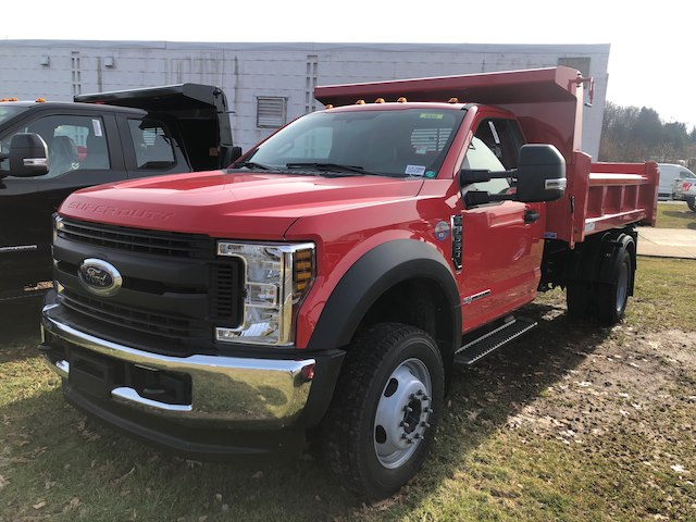 2019 F-550 Regular Cab DRW 4x4,  Rugby Dump Body #G5300 - photo 3