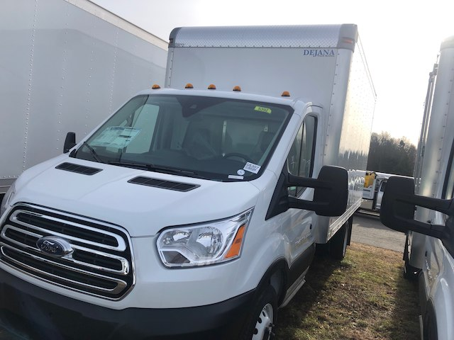 2019 Transit 350 HD DRW 4x2,  Dejana Truck & Utility Equipment Cutaway Van #G5307 - photo 3
