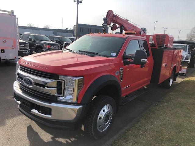 2019 F-550 Super Cab DRW 4x4,  Knapheide Mechanics Body #G5366 - photo 3