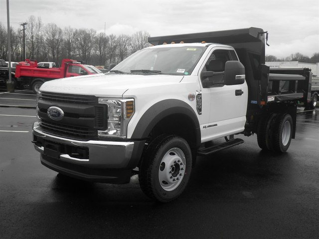 2019 F-550 Regular Cab DRW 4x4,  Rugby Dump Body #G5380 - photo 2