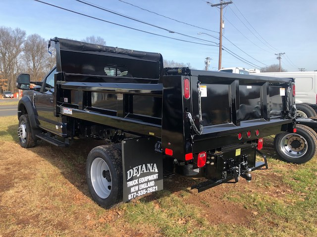 2019 F-550 Regular Cab DRW 4x4,  Rugby Dump Body #G5402 - photo 4
