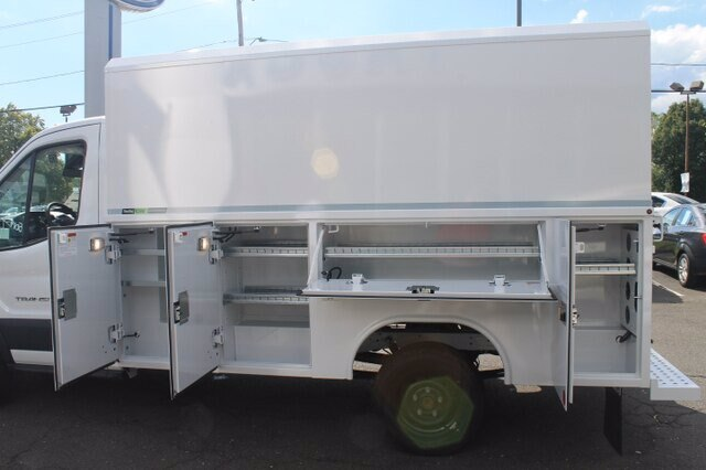 2019 Ford Transit 350 RWD, Reading Aluminum CSV Service Utility Van #G6125 - photo 9