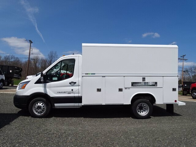 2020 Ford Transit 350 HD AWD, Reading Aluminum CSV Service Utility Van #G6611 - photo 1