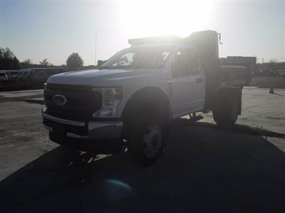 2020 Ford F-550 Regular Cab DRW 4x4, Rugby Dump Body #G7277 - photo 4