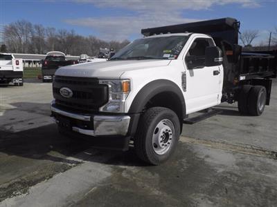 2020 Ford F-600 Regular Cab DRW 4x4, Rugby Eliminator LP Steel Dump Body #G7319 - photo 4