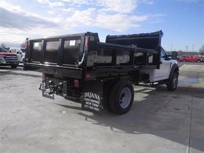 2020 Ford F-600 Regular Cab DRW 4x4, Rugby Eliminator LP Steel Dump Body #G7319 - photo 2