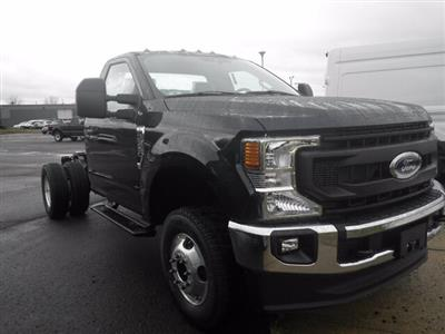 2021 Ford F-350 Regular Cab DRW 4x4, Cab Chassis #G7346 - photo 1