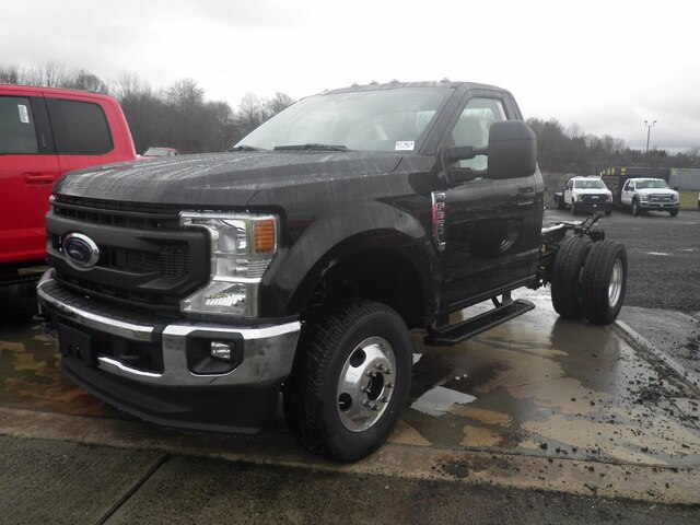 2021 Ford F-350 Regular Cab DRW 4x4, Cab Chassis #G7363 - photo 4