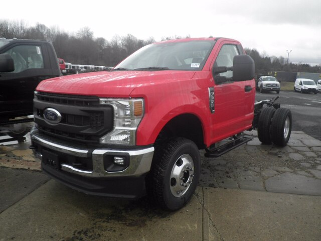 2021 Ford F-350 Regular Cab DRW 4x4, Cab Chassis #G7364 - photo 4