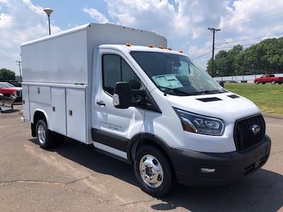 2021 Ford Transit 350 HD AWD, Reading Aluminum CSV Service Utility Van #G7707 - photo 1