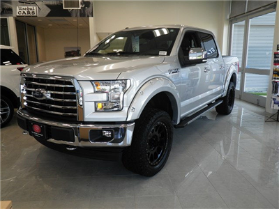 2017 F-150 Crew Cab 4x4, Pickup #GCR1515 - photo 4