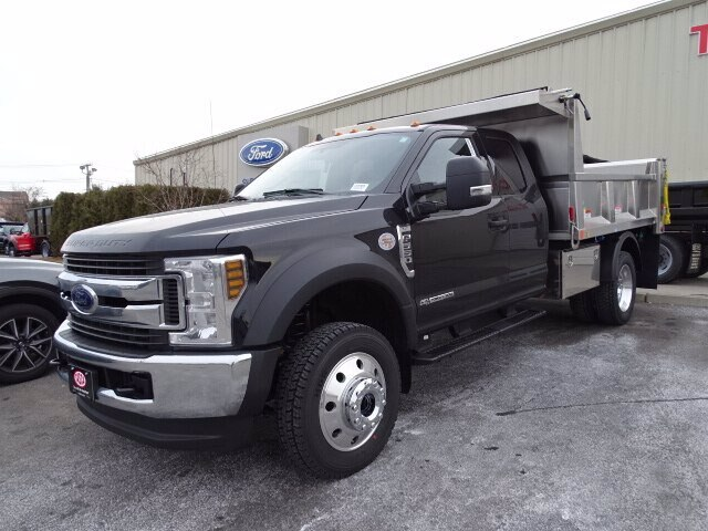 2019 Ford F-550 Super Cab DRW 4x4, Iroquois Brave Series Stainless Steel Dump Body #GCR4985 - photo 1