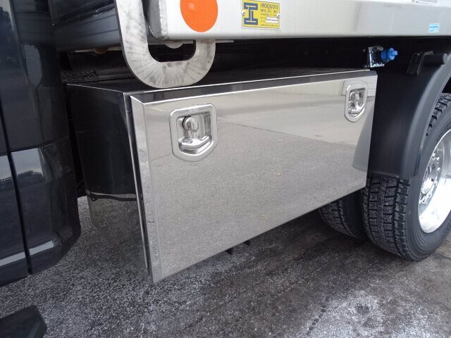 2019 Ford F-550 Super Cab DRW 4x4, Iroquois Brave Series Stainless Steel Dump Body #GCR4985 - photo 4