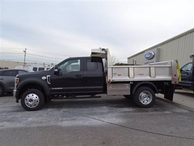 2019 Ford F-550 Super Cab DRW 4x4, Iroquois Brave Series Stainless Steel Dump Body #GCR4985 - photo 3