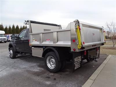 2019 Ford F-550 Super Cab DRW 4x4, Iroquois Brave Series Stainless Steel Dump Body #GCR4985 - photo 2