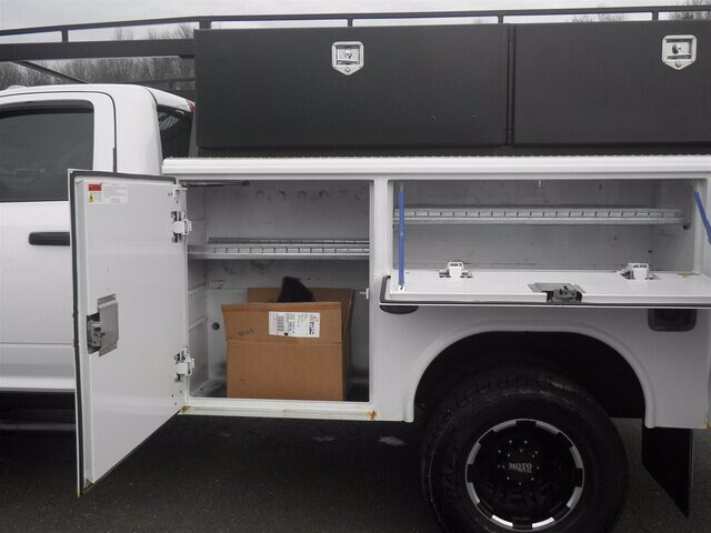 2012 Ram 3500 Regular Cab DRW 4x4, Reading Service Body #GCR5848A - photo 15