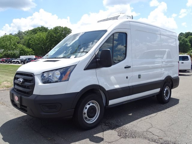2020 Ford Transit 250 Med Roof RWD, Thermo King Refrigerated Body #GCR6882 - photo 1