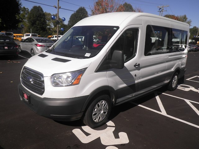 2017 Transit 350 Med Roof 4x2,  Passenger Wagon #H3229 - photo 4