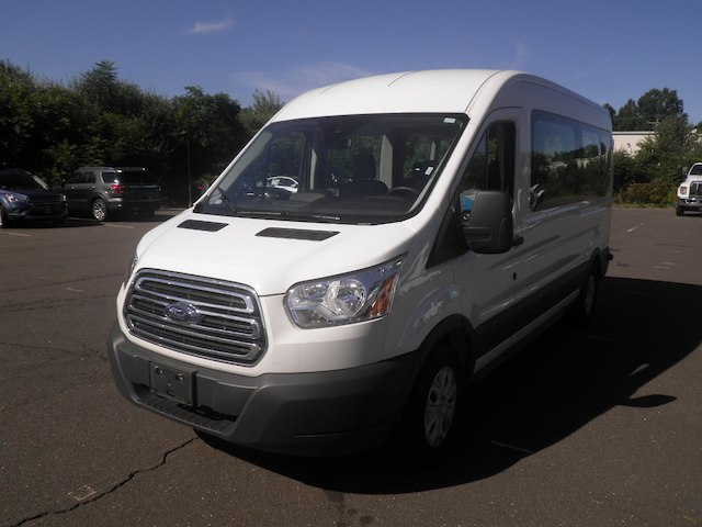 2017 Transit 350 Med Roof 4x2,  Passenger Wagon #H3242 - photo 4