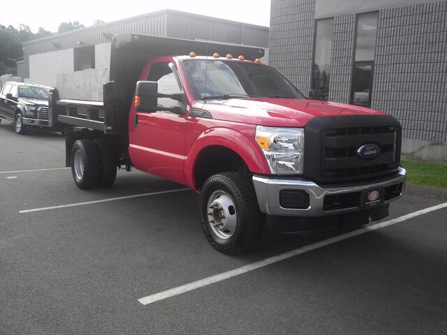 2015 Ford F-350 Regular Cab DRW 4x4, Dump Body #H3773 - photo 3