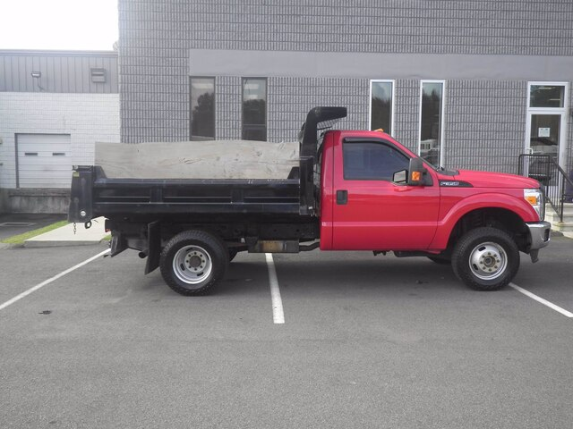 2015 Ford F-350 Regular Cab DRW 4x4, Dump Body #H3773 - photo 8