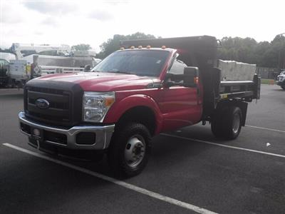 2015 Ford F-350 Regular Cab DRW 4x4, Dump Body #H3773 - photo 1