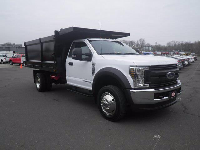 2019 Ford F-550 Regular Cab DRW 4x4, Landscape Dump #H3906 - photo 1