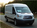 2018 Transit 150 Med Roof 4x2,  Empty Cargo Van #188353 - photo 1