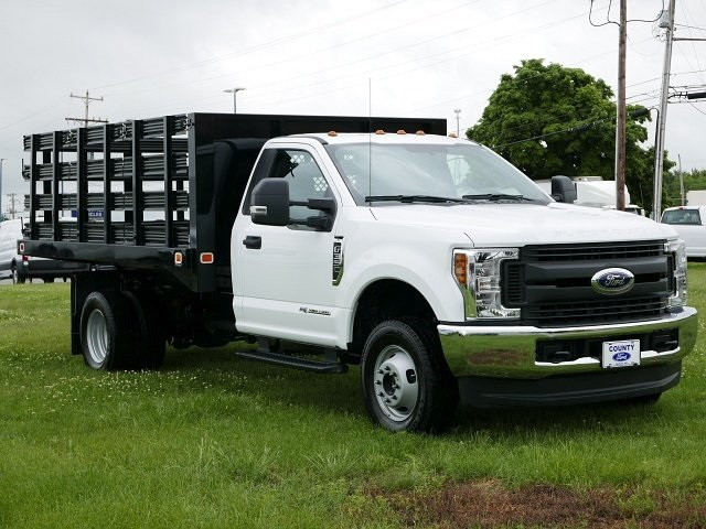 2018 F-350 Regular Cab DRW 4x4,  Knapheide Stake Bed #188451 - photo 3