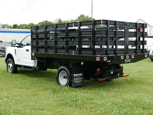 2018 F-350 Regular Cab DRW 4x4,  Knapheide Stake Bed #188451 - photo 2