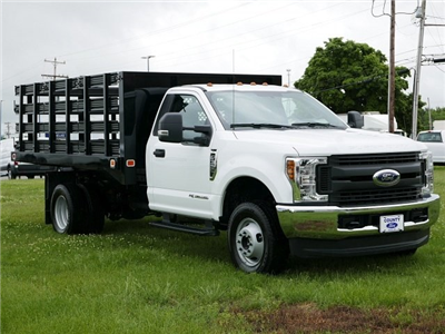 2018 F-350 Regular Cab DRW 4x4,  Knapheide Value-Master X Stake Bed #188451 - photo 3