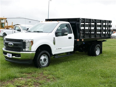 2018 F-350 Regular Cab DRW 4x4,  Knapheide Value-Master X Stake Bed #188451 - photo 1