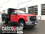 2017 F-350 Regular Cab DRW 4x4, Dump Body #H1201 - photo 1
