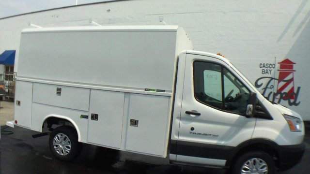 2017 Transit 350 Low Roof, Service Utility Van #H912 - photo 3