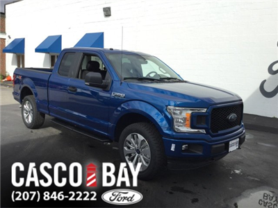 2018 F-150 Super Cab 4x4 Pickup #J055 - photo 1