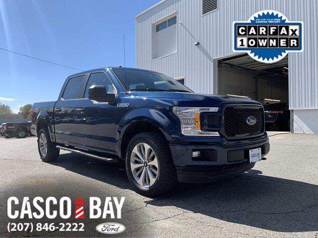 2018 Ford F-150 SuperCrew Cab 4x4, Pickup #M285A - photo 1