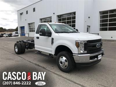 2018 F-350 Regular Cab DRW 4x4, Cab Chassis #J512 - photo 1