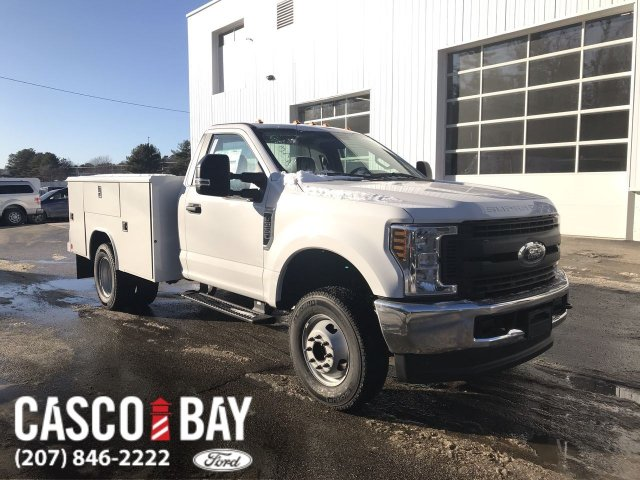 2019 Ford F-350 Regular Cab DRW 4x4, Reading Classic II Steel Service Body #K1136 - photo 1