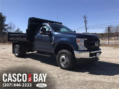 2020 Ford F-350 Regular Cab DRW 4x4, Rugby Dump Body #L266 - photo 1